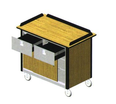 Lakeside Version 4 Hydration/Nutrition Cart, 26 x 44 1/2 x 37 3/4 inch -- 1 each.