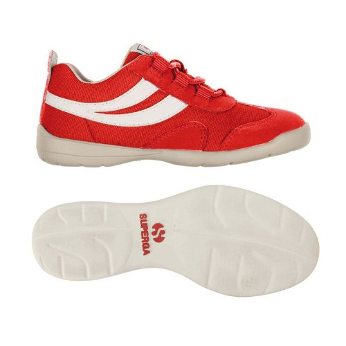 Sneakers - 2885 Matchrace Cotnbsynj - Bambini - Red-White - 37