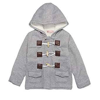 y boa b b gar on manteau parka capuche coton epais hiver gris v tements et. Black Bedroom Furniture Sets. Home Design Ideas