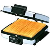 Black & Decker G48TD 3-in-1 Waffle Maker & Indoor Grill/Griddle, Silver
