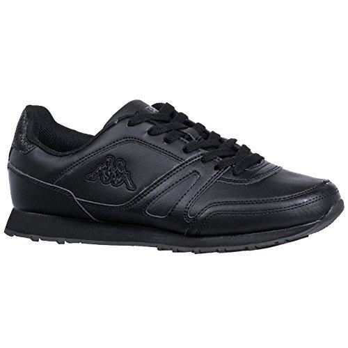 Kappa New Annes, Sneaker uomo, Nero (nero), 43 EU