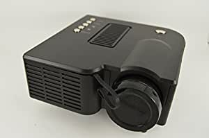"Mini AV LED Digital Projector w/USB, SD Card Slot & Speaker - Enjoy Custom Viewing with a 17"" to 67"" Display!"