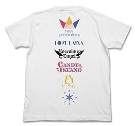 アイドルマスター シンデレラガールズ シンデレラプロジェクト Tシャツ ホワイト Lサイズ