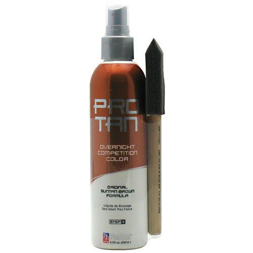 Pro Tan Overnight Competition Color Original Suntan Brown