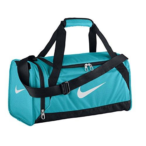 fcac7e7c71b9 Nike Brasilia 6 Extra Small Duffel Bag Omega Blue Black White ...
