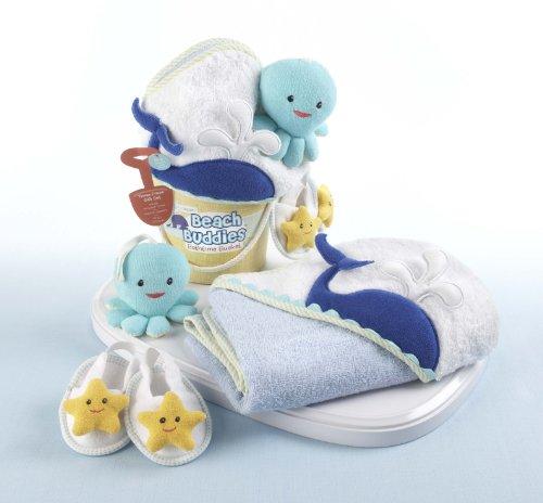 Imagen de Bebé Aspen Beach Buddies Deep Sea 3 piezas Set de baño