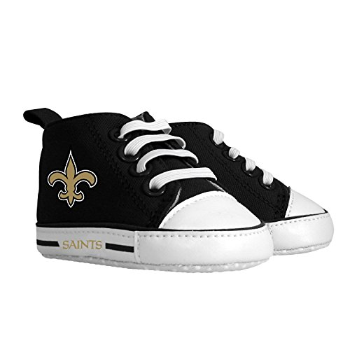 Baby Fanatic Pre-Walker Hightop, New Orleans Saints front-1026756