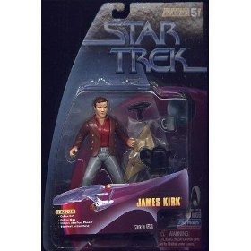 "JAMES KIRK Star Trek: The Original Series Warp Factor Series 5 Action Figure from the Episode ""The City on the Edge of Forever"""