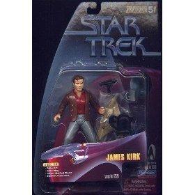 JAMES KIRK Star Trek: The Original Series Warp Factor Series 5 Action Figure from the Episode