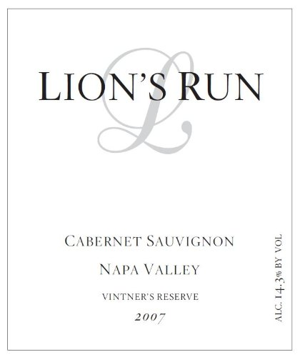 2007 Lion'S Run Cabernet Sauvignon 750 Ml