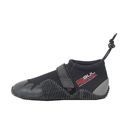 Gul Strapped Slipper 3mm Titanium Shoe BLACK / GREY BO1265 Boot/Shoe Size UK - UK Size 7