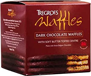 Dark Chocolate Covered Toffee Wafers Waffles Biscuits (Stroopwafels ...