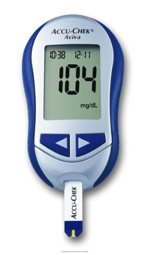 Cheap ACCU-CHEK Aviva System Blood Glucose Monitoring System, Accucheck Aviva Diab Kit, (1 EACH, 1 EACH) (UHS-BIO05963451001-1EACH)
