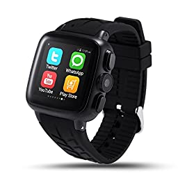 LEMFO LF13 Smart Watch Cell Phone 3G Android 4.4 Wifi 600mAh GPS Heart Rate Monitor