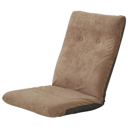 山善(YAMAZEN) ハイバック座椅子 カプチーノブラウン HZ-46(BR)
