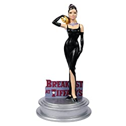 Audrey Hepburn Figurine Breakfast At Tiffany's Style