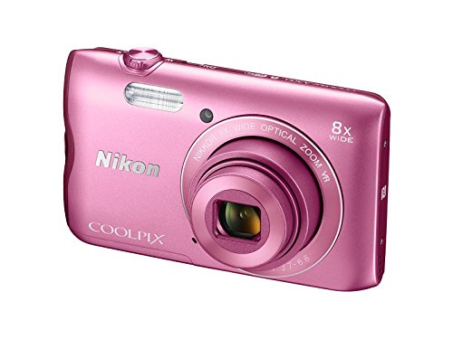 Nikon-Coolpix-A300-201MP-Point-and-Shoot-Camera-with-4x-Optical-Zoom-Pink