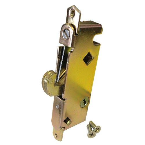 sliding glass patio door lock mortise type 45 degree keyway 3 11 16