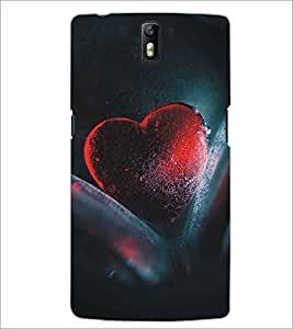 PRINTSWAG HEART Designer Back Cover Case for ONE PLUS ONE