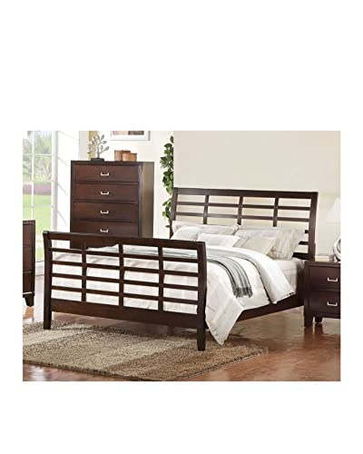 Acme Furniture Queen Bed, Cappuccino