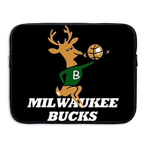 Custom Novelty Basketball Team Mascot Shock-Resistant Laptop Carrying Cover 15""