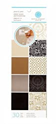 Martha Stewart Crafts Punch Pad 4'' X 12'' Neutrals By The Package
