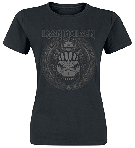 Iron Maiden Book Of Souls Skull Maglia donna nero XL