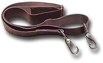 Brown Leather Shoulder Strap For Bag 3
