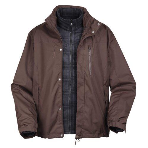 Lafuma Donegal Twin Men's 3in1 Jacket - Dark Brown, X-Large
