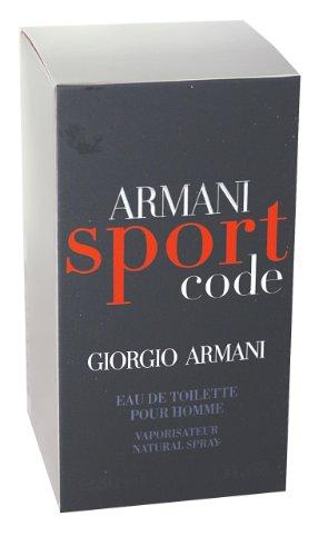 giorgio armani code sport for men eau de toilette spray 2. Black Bedroom Furniture Sets. Home Design Ideas