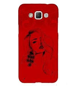 Stylish Girl 3D Hard Polycarbonate Designer Back Case Cover for Samsung Galaxy Grand 3 G720 :: Samsung Galaxy Grand Max G720