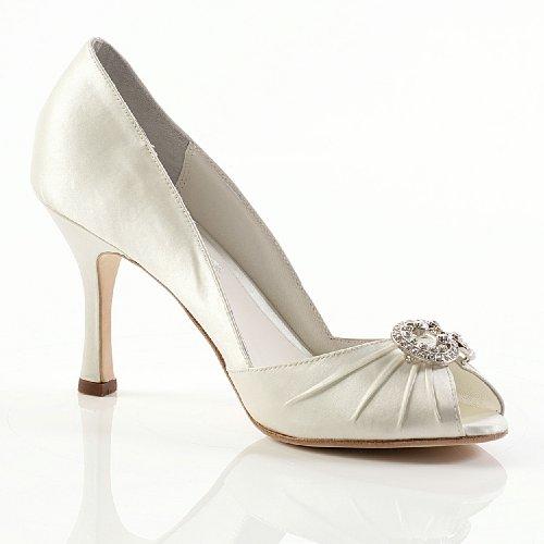 Winslet Wedding Shoes Ivory Size 5