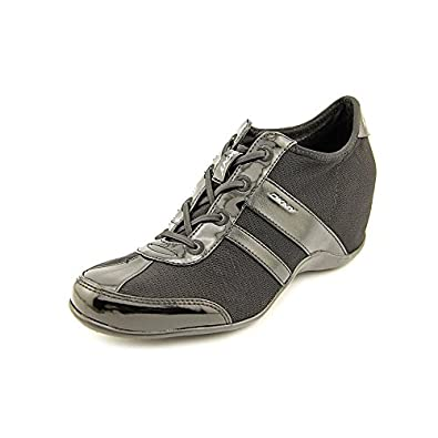 Amazon.com: DKNY ACTIVE Women's Paige Wedge Sneaker (Black 7.0 M