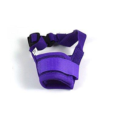 KEI Cani Museruole Sicurezza Rosso / Nero / Bianco / Blu / Rosa / Viola Tessuto intrecciato / Retato , purple , s