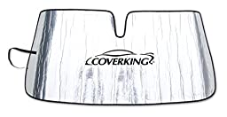 Coverking Custom Sunshade for Select Honda Odyssey Models - Reflective Mylar Foam (Silver)