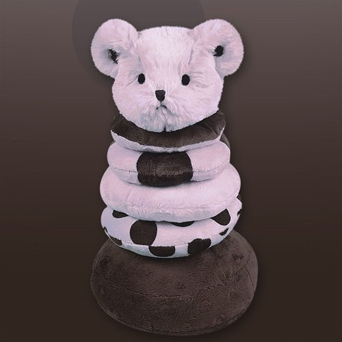 Bearington Baby Posh Dots Series: Plush Posh