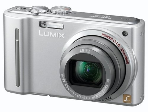 Panasonic Lumix TZ8 Digital Camera - Silver (12.1MP, 12x Optical Zoom) 2.7 inch LCD