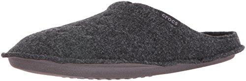 Crocs Classic Slipper Infradito e Ciabatte da Spiaggia, Unisex Adulto, Nero,  41/42