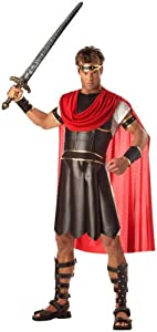 California Costumes Men's Adult-Hercules, Brown/Red, M (40-42) Costume