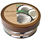 Delon+ Intensely Moisturising Luxurious Body Butter: COCONUT 200ml Tub