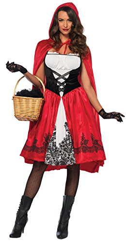 Classic Little Red Riding Hood Costume - Large - Dress Size 12-14