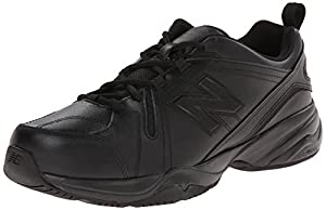 New Balance Men's MX608V4 Training Shoe,Black,14 2E US