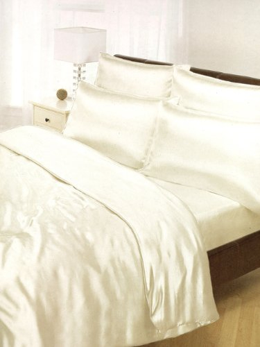 cream-satin-king-duvet-cover-fitted-sheet-and-4-pillowcases-bedding-by-ideal-textiles