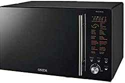 Onida MO25CJS25B 25-Litre 900-Watt Convection Microwave Oven (Black)