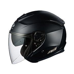 オージーケーカブト(OGK KABUTO) ヘルメット ASAGI フラットブラック M (57-58cm)