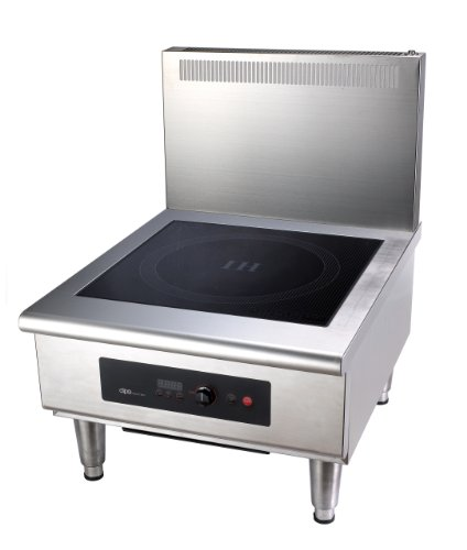 Dipo Dih602-A 6000 Watt 3 Phase Free Standing Induction Stock Pot Range With Optional External Temperature Probe.