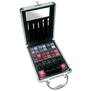 Gloss! - A0033 - Mallette de Maquillage - 34 Pièces de Cosmétiques