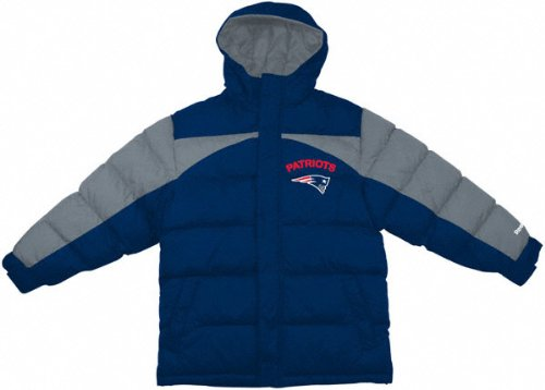 New England Patriots Kid's Heavyweight Quilted Parka