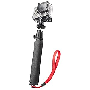 Mantona Hand Support Monopod with Tripod Adapter for GoPro Hero