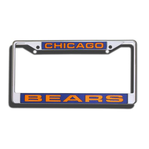 Chicago Bears Laser Chrome Frame